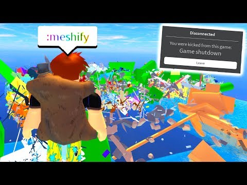 Xxx Mp4 I Accidentally DESTROYED THE MAP With Admin Commands Roblox 3gp Sex