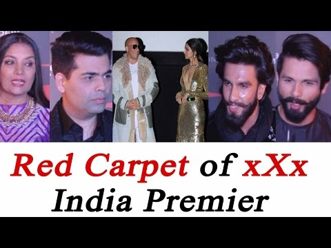 Xxx Mp4 Vin Diesel Deepika Padukone Ranveer Shahid At XXx Premier Red Carpet Watch Video FilmiBeat 3gp Sex