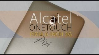 Alcatel OneTouch Pixi4 6-inch Non-LTE Phablet