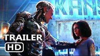 ALITA BATTLE ANGEL Official Trailer (2018) James Cameron Sci Fi Movie HD