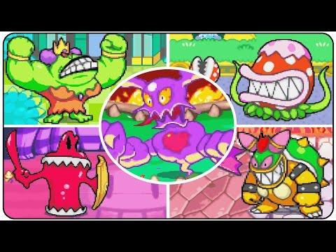 Mario and Luigi Superstar Saga All Bosses