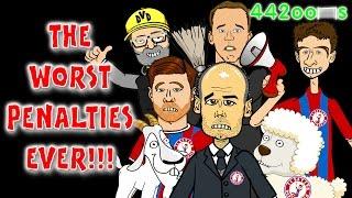 ⚽️😵TERRIBLE PENALTIES😳⚽️Bayern Munich vs Borussia Dortmund Cartoon Parody(2-0 DFB-Pokal Semifinal)