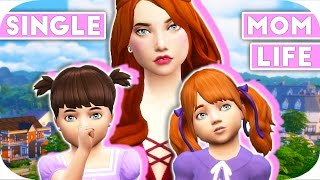 SINGLE MOM LIFE | THE SIMS 4 | Part 17 - Toddlers Day Out & Sleepover!💘