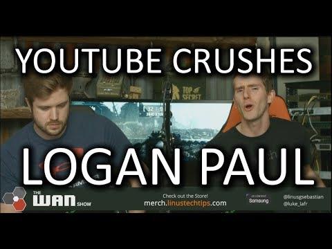 Xxx Mp4 YouTube CRUSHES Logan Paul WAN Show Feb 9 2018 3gp Sex