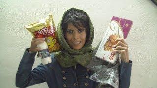 TRYING IRANIAN SNACKS IN IRAN!