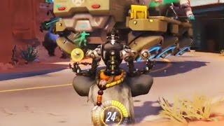 Overwatch Bronze Moments #25 - Zenyatta Defends The Payload