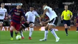 Enzo Perez vs Barcelona Away (17/04/2016)