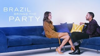 The CÎROC® Hot List with Alessandra Ambrosio 🛋️: Brazil brings the party