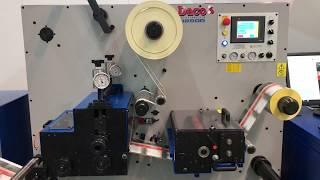 Daco DP350 UV Inkjet Printing CMYK Labels