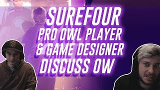Pro Overwatch League Player & Game Designer Discuss Overwatch | Surefour highlights #64