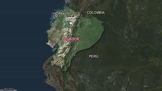 Erős földrengés rázta meg Ecuadort