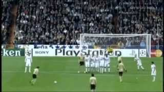 Alessandro Del Piero (Juventus) Vs Real Madrid at the Santiago Bernabeu - Champions League 2008/2009