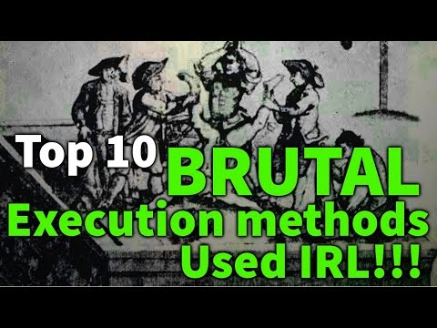 Top 10 BRUTAL Execution Methods used IRL