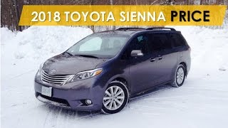 2018 Toyota Sienna Price Review, Watch Now!
