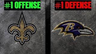 THE EDGE # 33 - New Orleans Saints @ Baltimore Ravens   No. 1 Offense Vs No. 1 Defense   Joe Noobo