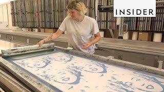 How Custom Wallpaper Is Made