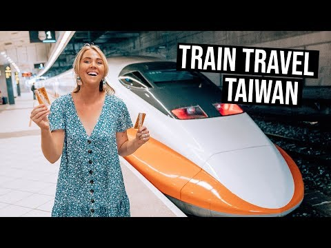 What is Train Travel like in Taiwan High Speed Trains from Kaohsiung to Taichung