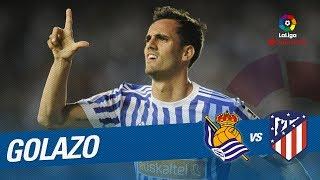 Golazo de Juanmi (2-0) Real Sociedad vs Atlético de Madrid