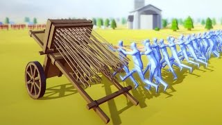 GUNS AND ARROWS   Totally Accurate Battle Simulator #5