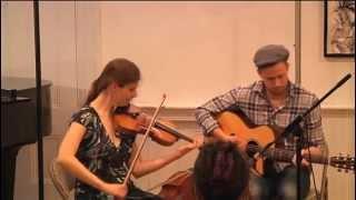 Mari Black and Jake Charron, Irish jig set