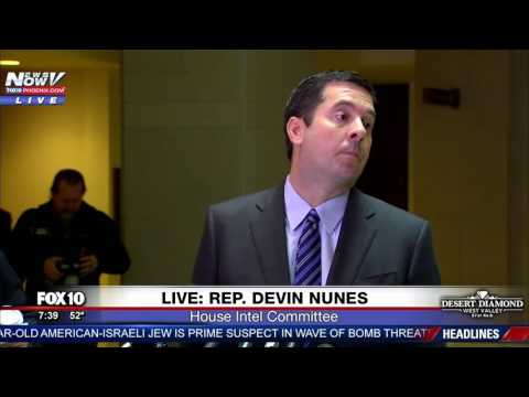 TRUMP SPIES Who Authorized Spying Donald Trump s Transition Team Devin Nunes Wants To Know FNN
