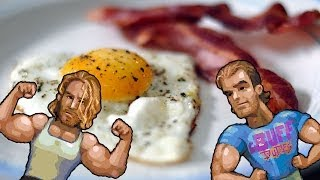 Full Day of Eating and Gym Workout - Buff Dudes