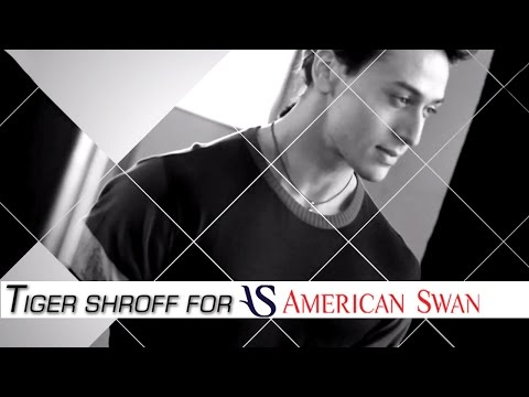 Tiger Shroff Photo-shoot for American Swan