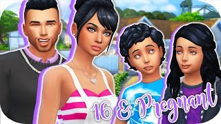 16 & PREGNANT👶🏻🍼 // THE SIMS 4 | Part 44 - First Day Of Homeschooling!🌈