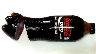 coca cola: How to make jelly gummy coke zero bottle jello soda shape easy step by step guide DIY