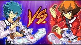 Yugioh GX! JADEN vs JESSE Duel! ( Character Deck )