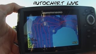 Humminbird Helix 5 Sonar G2 - Autochart Live - Zero Lines SD