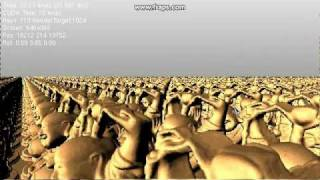 CUDA Voxel Demo (Endless Buddha)