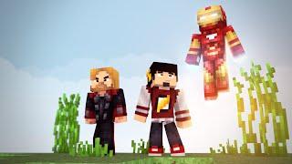 Minecraft Mods: OS VINGADORES - HARDCORE LUCKY BLOCK ‹ AM3NlC ›
