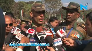 Bangladesh Army Gen reviews IMAPassing out Parade