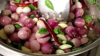 Amazing Taste Onion Chutney Recipe in My Village | Side Dish for Dosa | VILLAGE FOOD