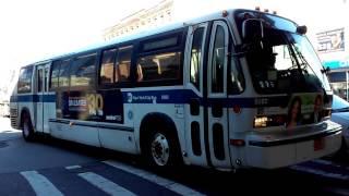[MTA]: Bensonhurst / Harway Av Bound 1999 Novabus RTS [#5083] B6 Bus @ Bay Parkway & 86th Street