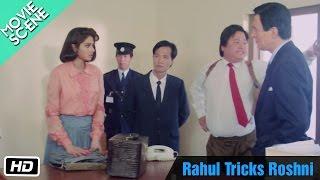 Rahul Tricks Roshni - Movie Scene - Sridevi, Rahul Roy
