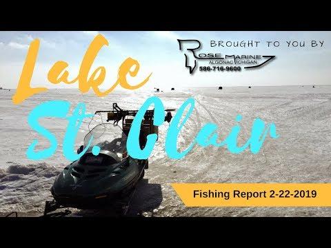 Xxx Mp4 Lake St Clair Michigan Ice Fishing Report 2 22 2019 3gp Sex