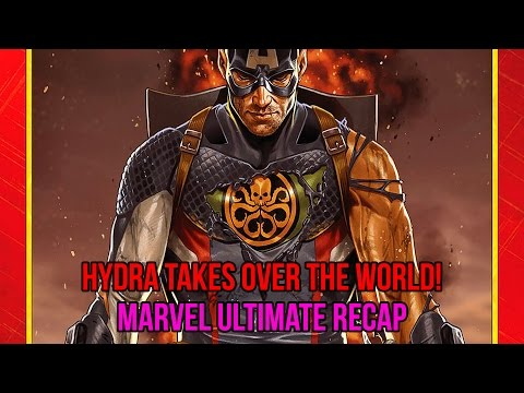 HYDRA TAKES OVER THE WORLD! | Marvel Ultimate Recap 4/16