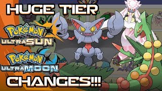 HUGE TIER CHANGES! Pokemon Ultra Sun and Moon Tier shift [July 2018]