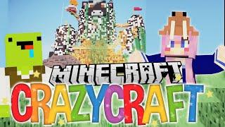 Pee Puddles | Ep 46 | Minecraft Crazy Craft 3.0