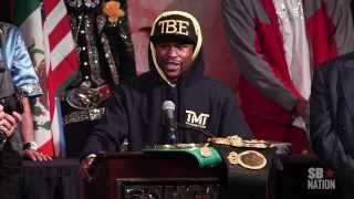 Mayweather vs. Canelo post-fight press conference highlights