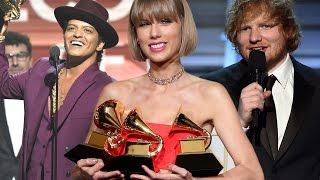 2016 Grammys Winner Recap: Taylor Swift, Ed Sheeran,  Kendrick Lamar
