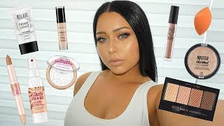 NEW DRUGSTORE MAKEUP: Full Face of First Impressions