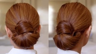 Hair Tutorial: Easy Elegance Hair Bun