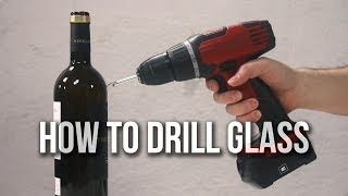 How to drill GLASS - Perfect holes! SUPER simple!