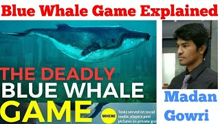 Blue Whale Game Explained | Tamil | Madan Gowri