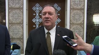"""Mike Pompeo in Saudi Arabia: """"We know precisely who conducted these attacks... it was Iran"""""""