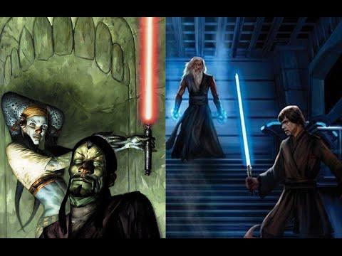 Versus Series Volfe Karkko and Aayla Secura Padawan VS Joruus C baoth and Luuke Skywalker Clone