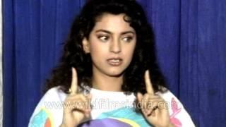 Bollywood actress Juhi Chawla on film Darar's Director